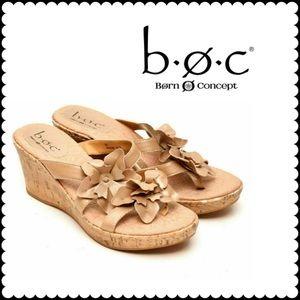 B.O.C Born Concepts Sandals Wedge Heel